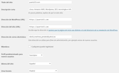 Tutorial de WordPress para configurarlo correctamente