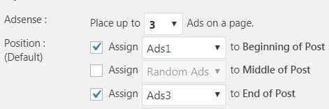 Plugin Quick adsense - Ubicación banners de anuncios