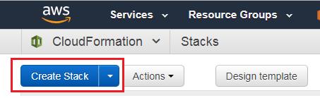 Amazon AWS - Create Stack