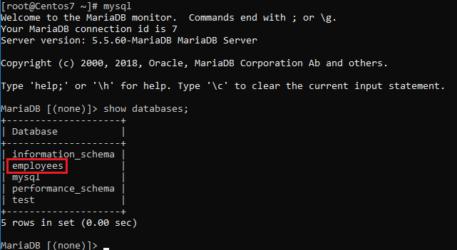 Réplica maestro esclavo de una base de datos MariaDB o MySQL