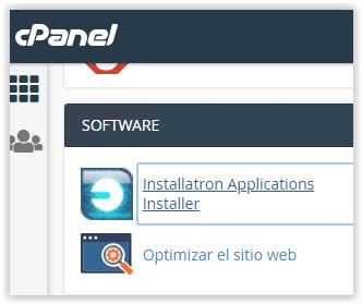 Installatron de Sered.net
