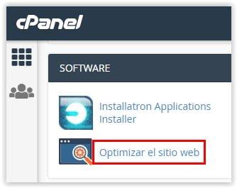 Sered.net - Optimizar el sitio WEB