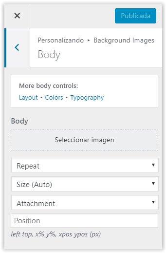 Generatepress - Configurar imagenes para el cuerpo del blog