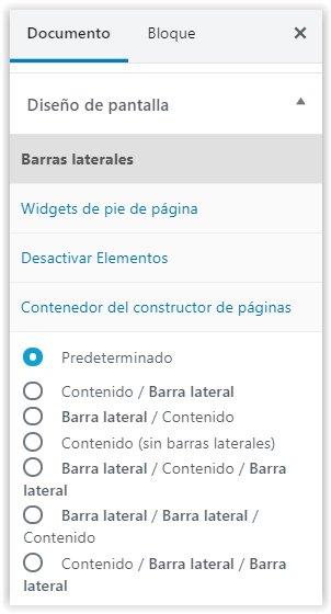 Personalización de la apariencia de paginas o entradas de WordPress con Generatepress
