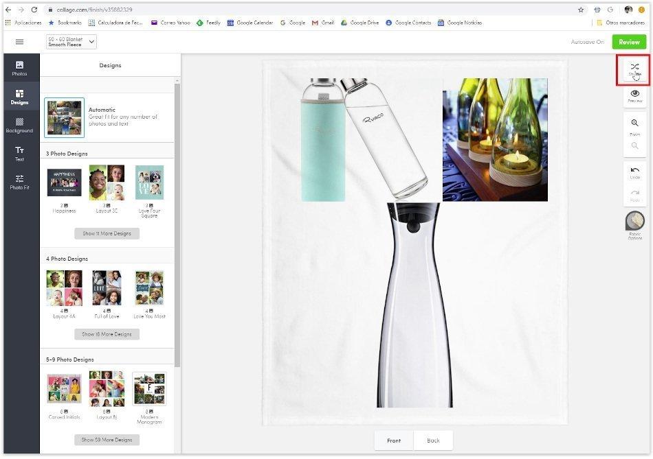 Generar un nueva imagen Collage