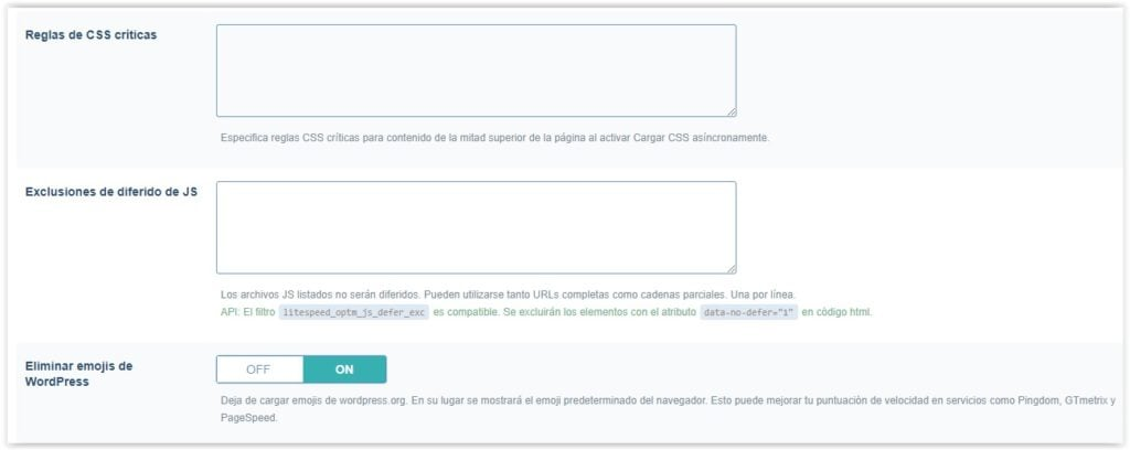 Plugin LitespeedCache - Ajustar (parte 3)