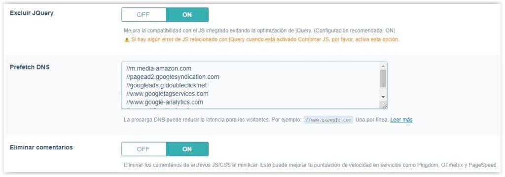 Plguin de WordPress Litespeed cache - Ajustes de optimizacion (parte 5)