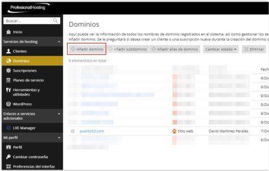 Mi Opinión sobre PROFESIONAL HOSTING para alojar páginas WEB WordPress en España