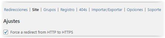 Redirection - Redirigir WordPress de HTTP a HTTPS