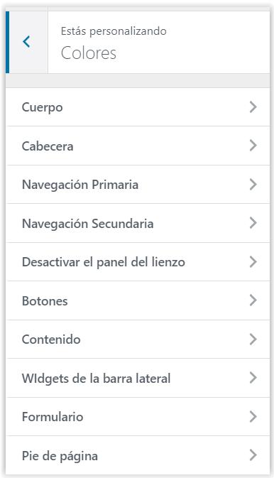Generatepress - Personalizacion de los colores de WordPress