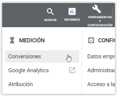 Google Adwords - Conversiones