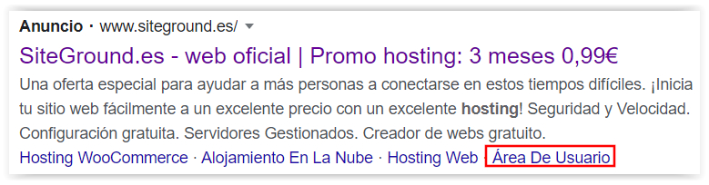 Google Adwords - Extensiones automaticas