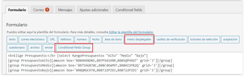 Crear un Selector Condicional en WordPress